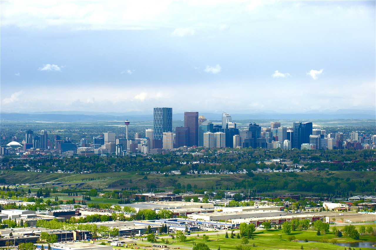 """Calgary, the heart of the New West!"""